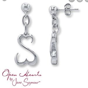 Kay Jewelers Open Hearts Collection earrings